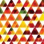 Triangle abstract background
