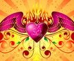 Free Vector Graphic - Winged Heart