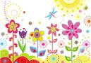 Colorful summer flower