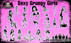16 Sexy Grungy Girls