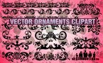 18 Vector Ornaments Clipart