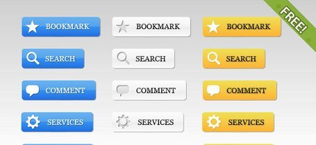 39 Free Web 2.0 Buttons