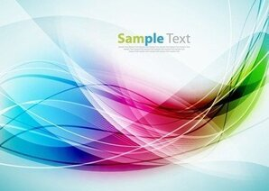 Abstract Colorful Vector Illustration Background