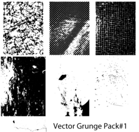 Free Vector Grunge Texture Pack 1