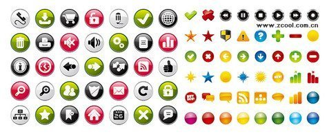 2 sets of radio button icon