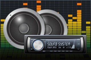 Car Audio Vector 5