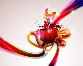 Stock Illustratioins: Colorful Gift Backgrounds