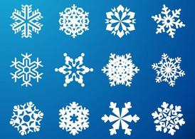 Snowflake Graphics Set
