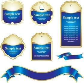 free blue ribbon clipart in ai svg eps or psd clipart me
