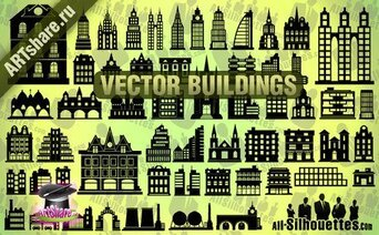 57 Vector Buildings