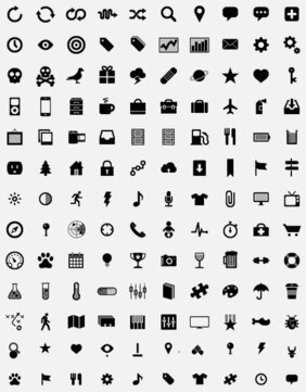 Simple Small Icons Vector graphic material (png ai png)