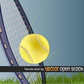 TENNIS SHOT VECTOR IMAGE.ai