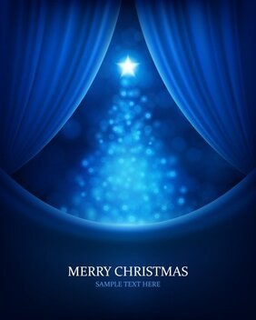Christmas Bright Background