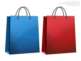 Shopping bag icon