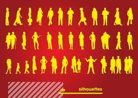 Free Silhouettes Vectors