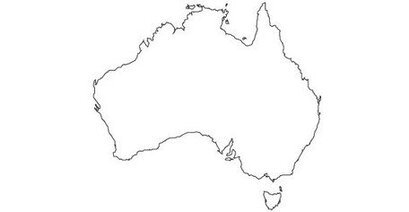 Free Vector Maps of Australia