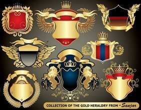 Europese heraldiek collectie
