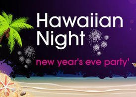 Hawaiian Night Party Background