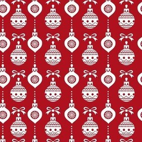 Abstract Christmas Seamless Background