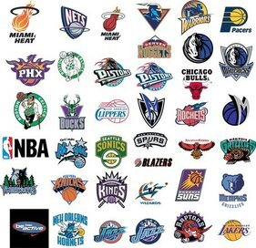 Nba Basketball Team Vector Logos