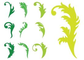 Leaves Silhouettes Graphics