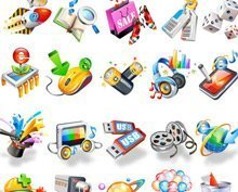 Beautiful 3D Icons