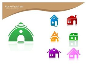 Gratis Vector Home pictogrammen