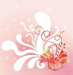 Vector Gift Box Celebration Background