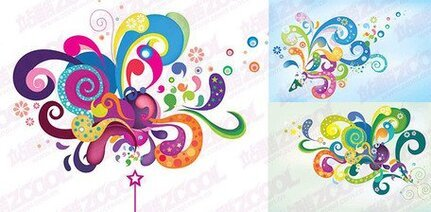3 the trend of colorful elements of