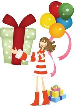 Kids and Gift