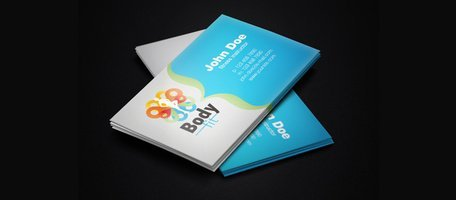 Fitness Instructor Business Card Template