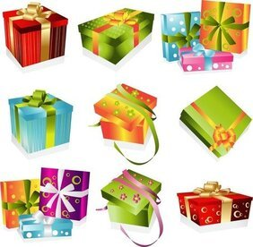 A Variety Of Exquisite Gift Box