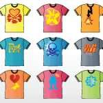 TEE SHIRT VECTOR DESIGNS SET.ai