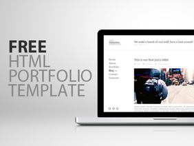 Effe - A Free HTML Template