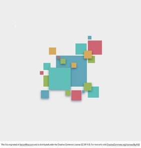 Gratis Vector Abstract Square achtergrond