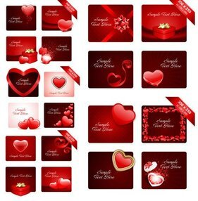 Valentine's Day romantic elements