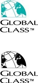 Global klass logotyp