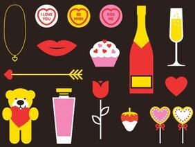 Valentines Vector Pack (AI+EPS)