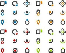 Illustrations Stock Icons-Logos vecteurs