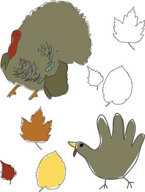 Thanksgiving Vector kunst