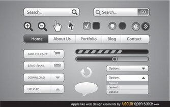 Apple como elementos de Design Web