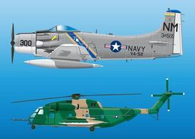 Military Aircraft Graphics