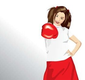 Boxing sport vector 1