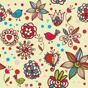 Cartoon Pattern Background