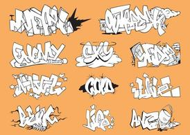 Grafiti adet Set