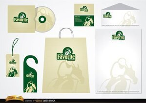 Turf Stationery packaging design