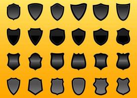 Shield Vector Graphics Set