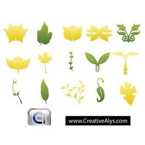 LEAVES FOR LOGO DESIGNERS.eps