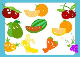 Fruits Veggie Characters