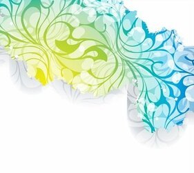 Popular Floral Background Vector Art